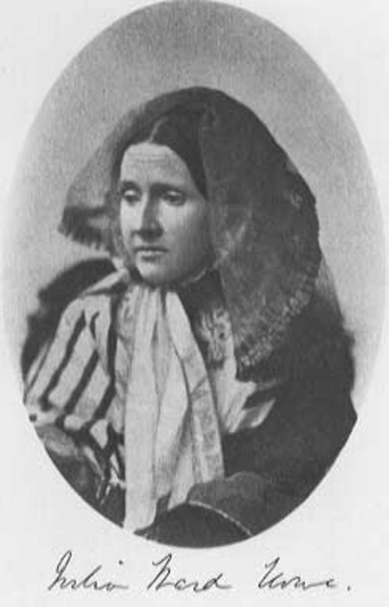 Julia Ward Howe, source Wikipedia - When is Mothers Day?
