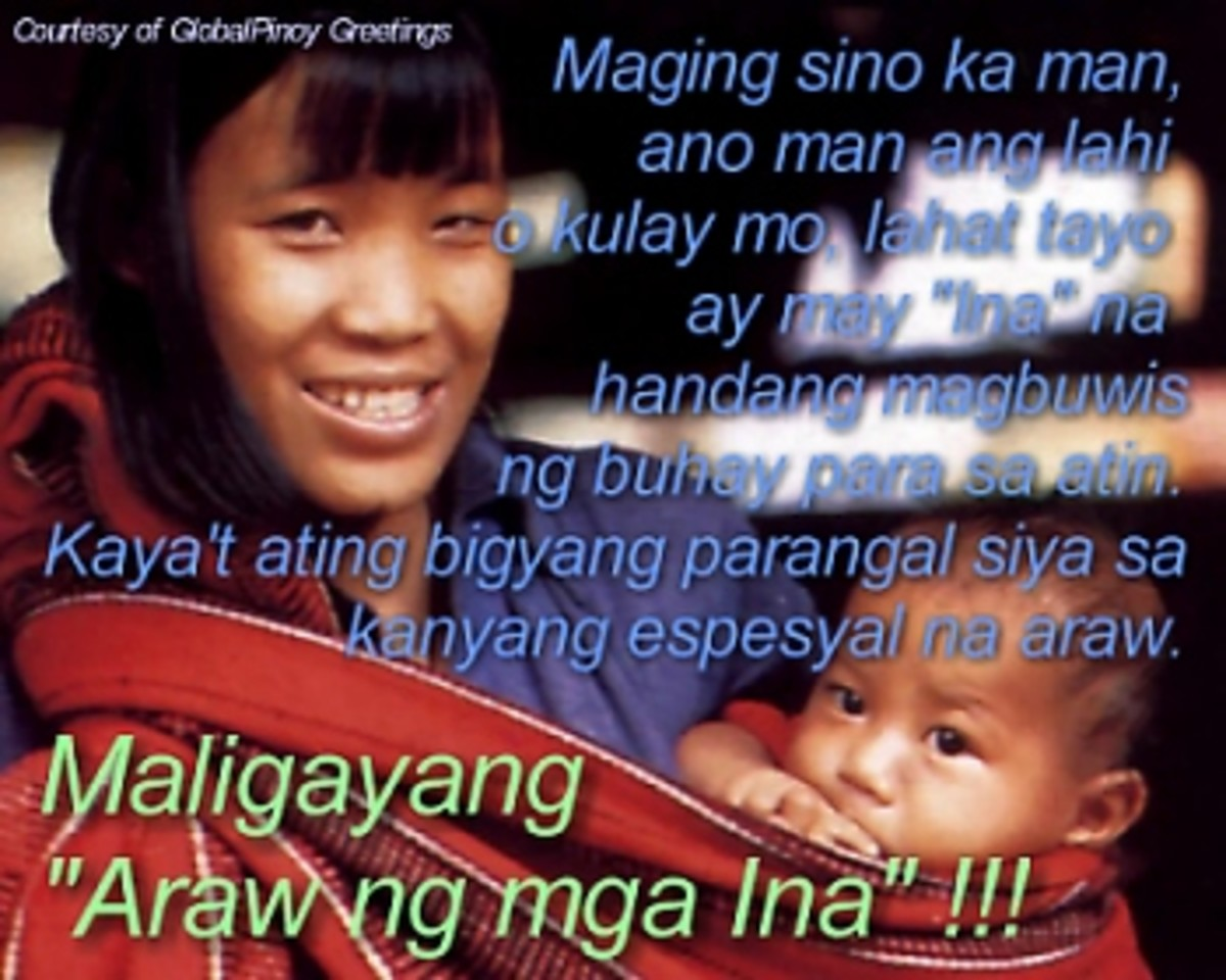 Happy Mothers Day in Tagalog. - When is Mothers Day?