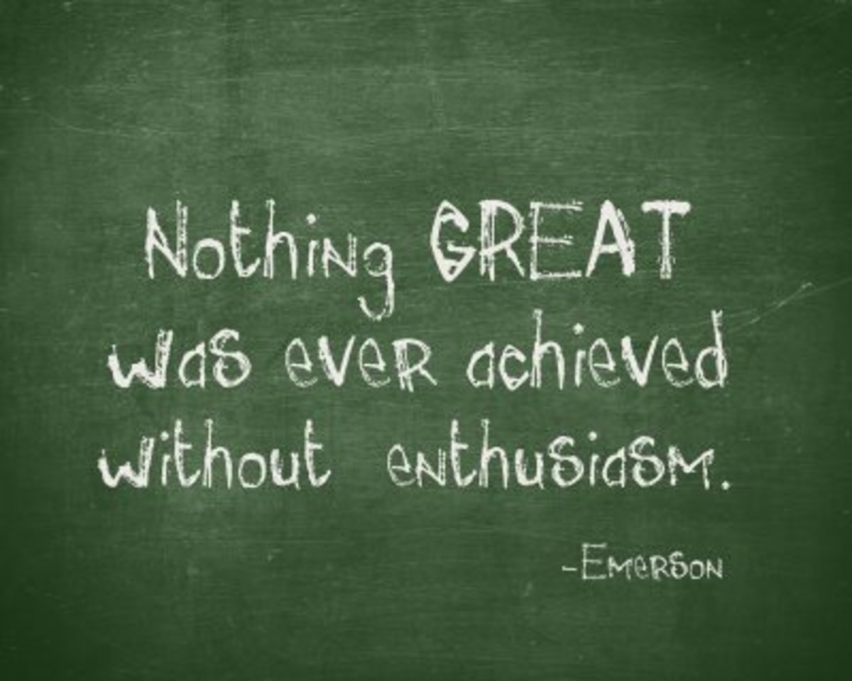 The Side Effects Of Enthusiasm