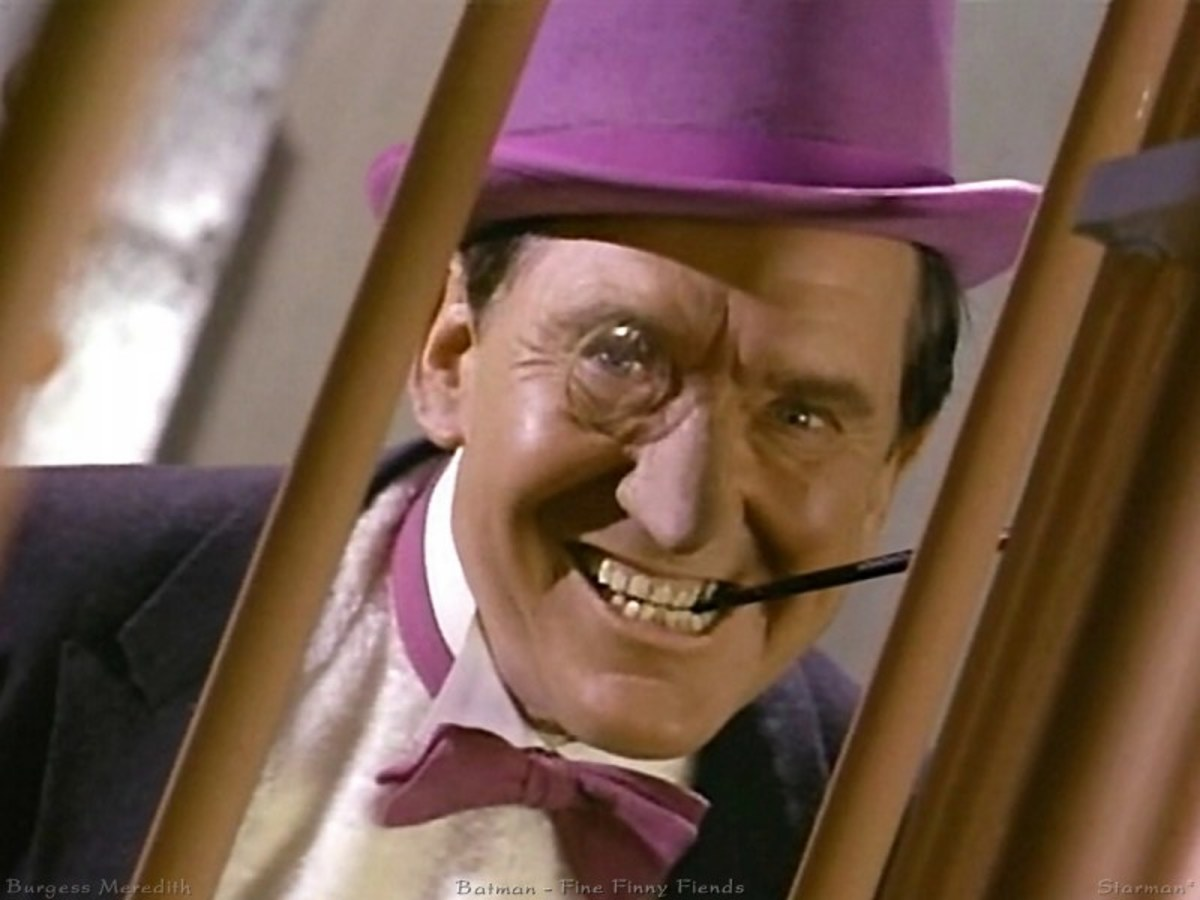 Burgess Meridith as the Penguin