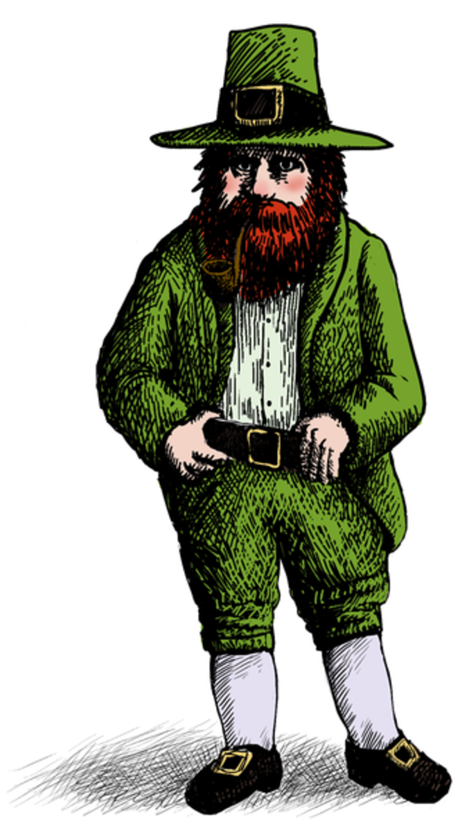 Leprechauns have become the most stereotyped of Irish fairies