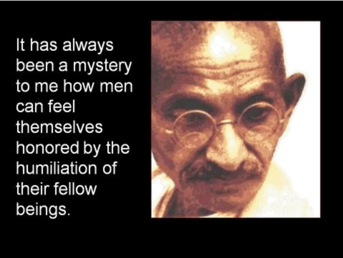 Gandhi Quotes Hubpages
