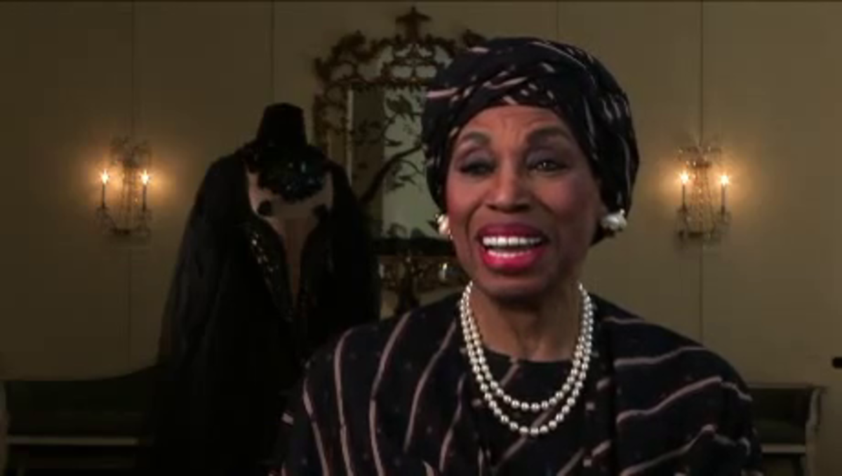 Leontyne Price at the National Endowment for the Arts Opera Honors, February 2011. I met this star in the 1960s.
