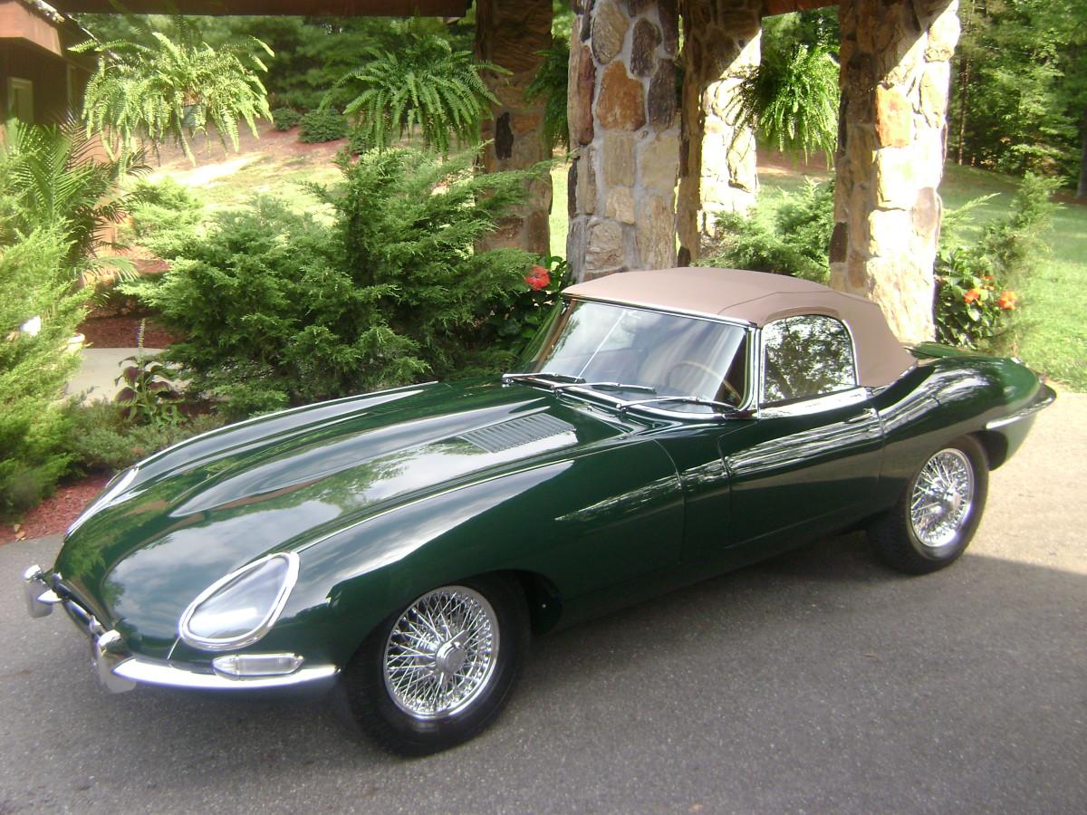 British Racing Green E-Type