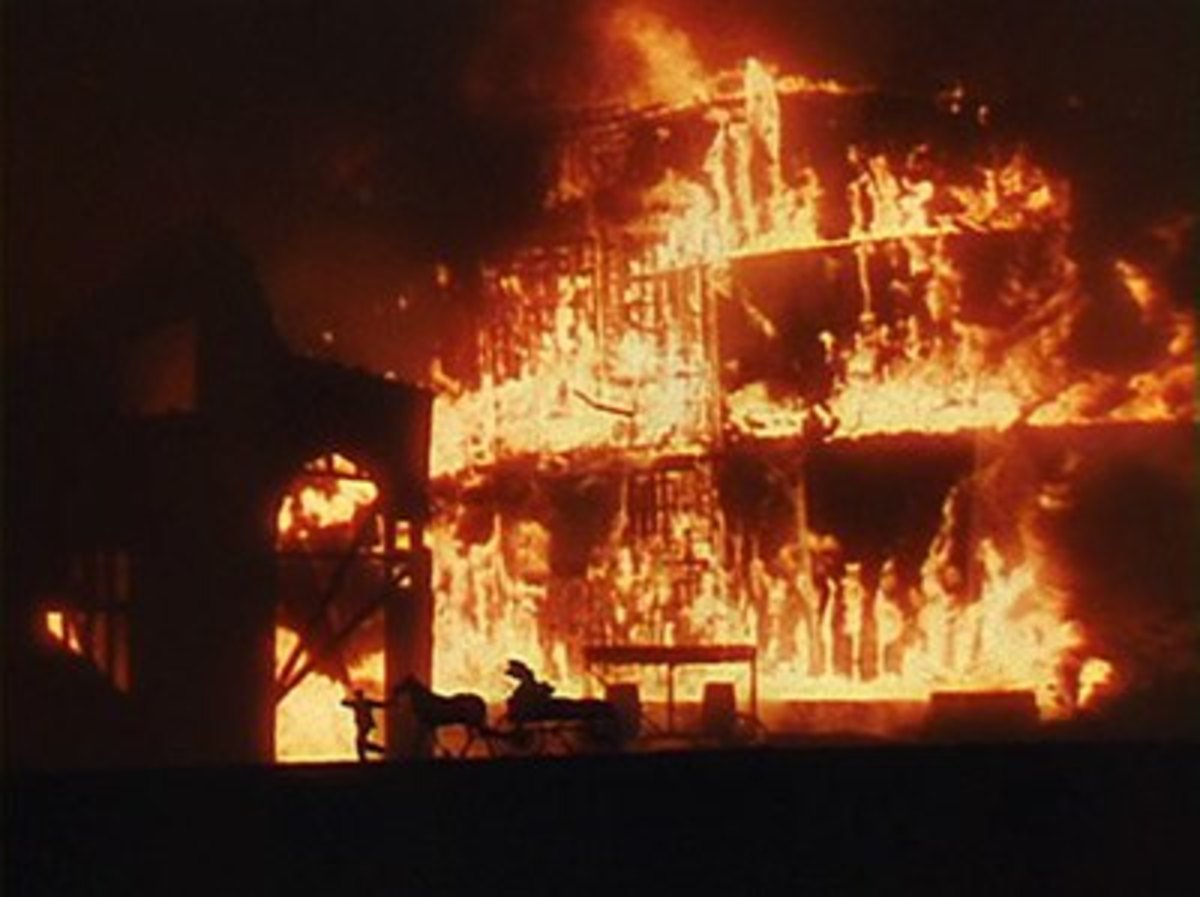 The Scenery Burns