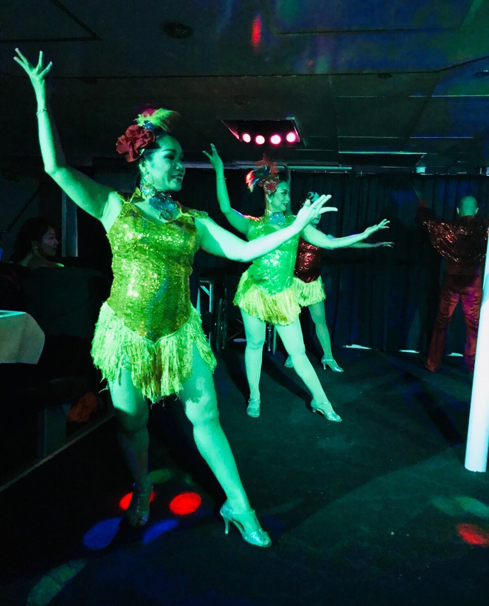 Party Time on Bali Cruise © Copyright Kalpana Iyer