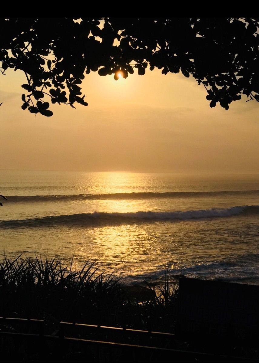 Sunset in Bali © Copyright Kalpana Iyer