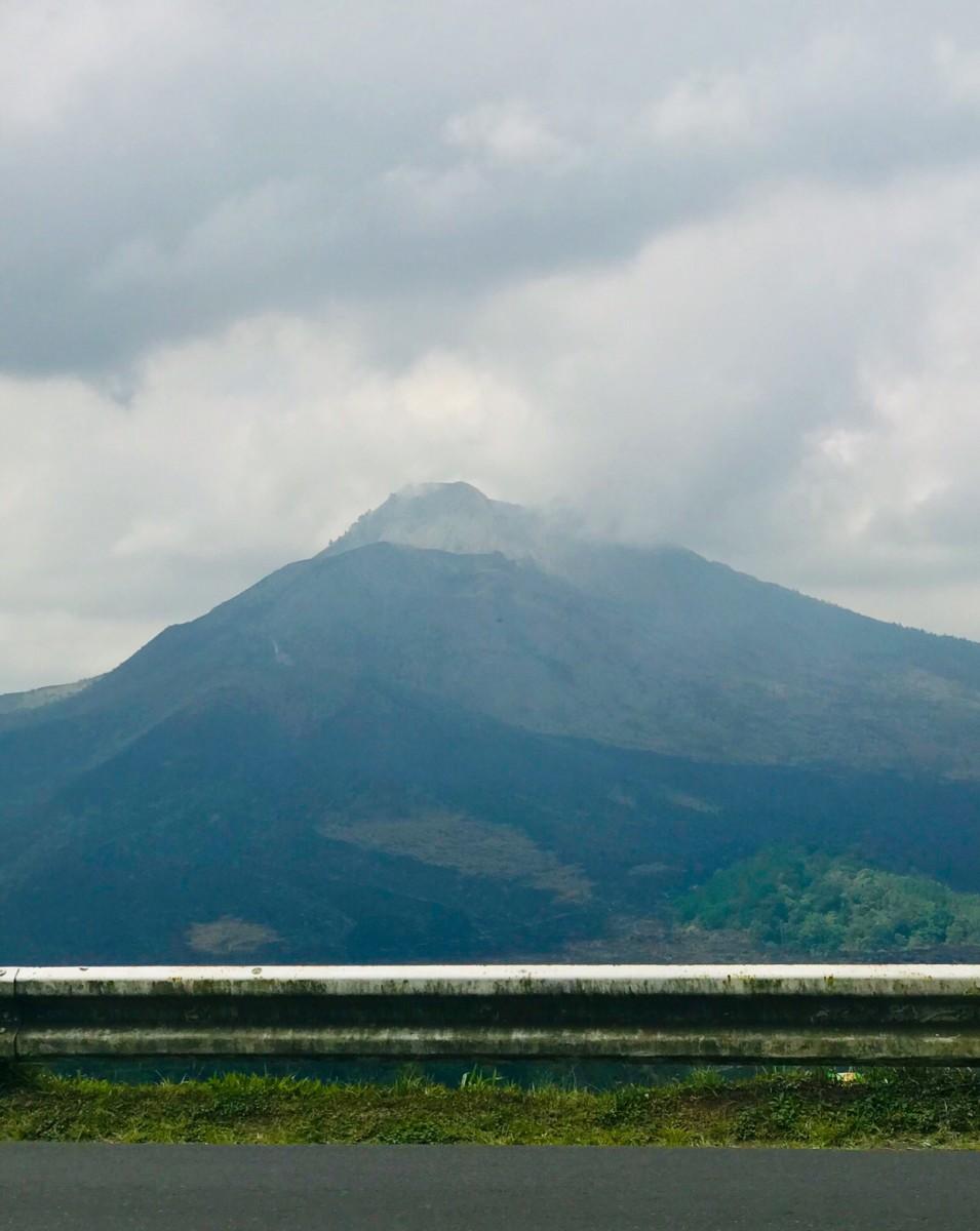 Mount Batur View From Kintamani Restaurant © Copyright Kalpana Iyer