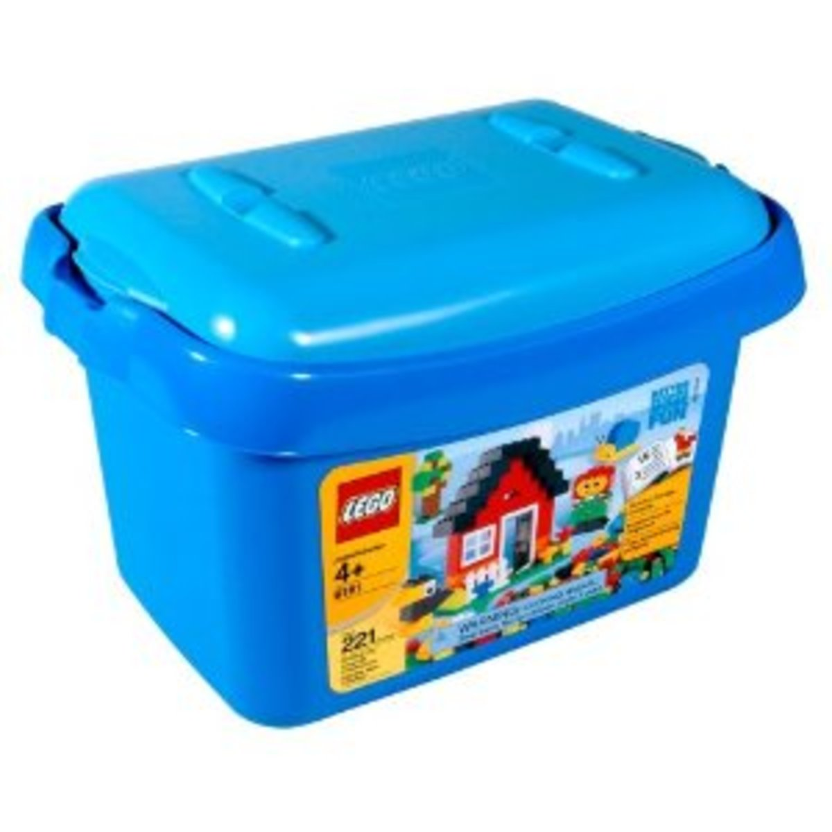 Lego Blue Brick Set