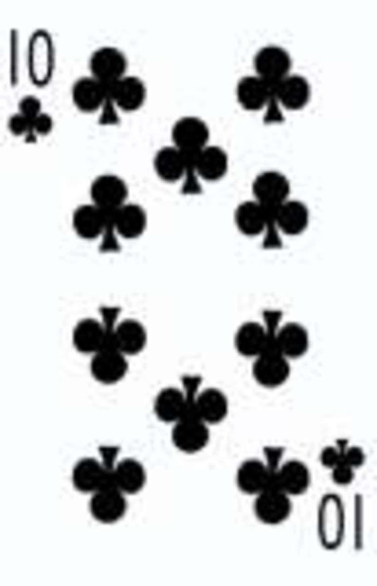 Ten of Clubs