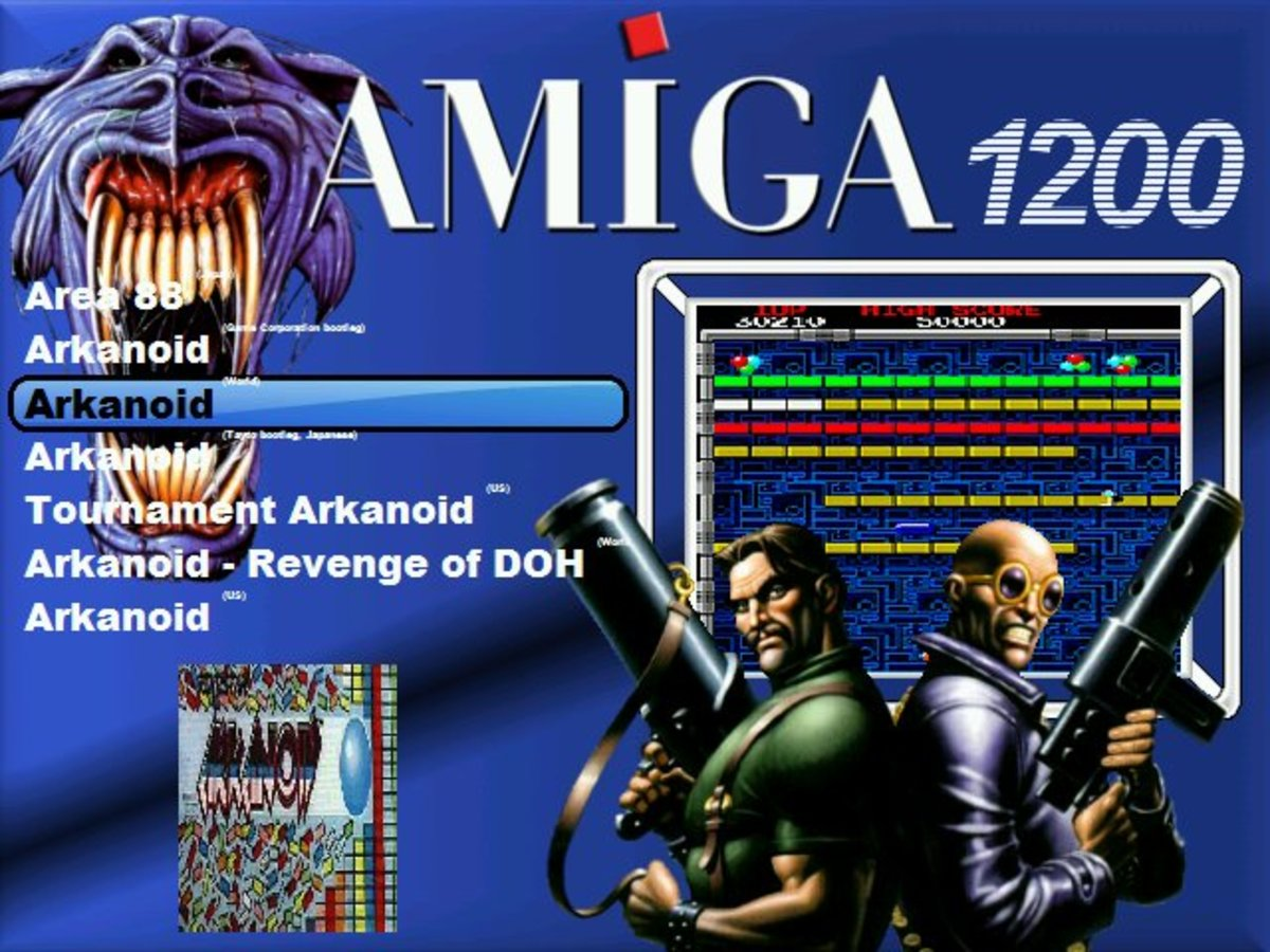 Some great games bundled here for you Amiga 1200
