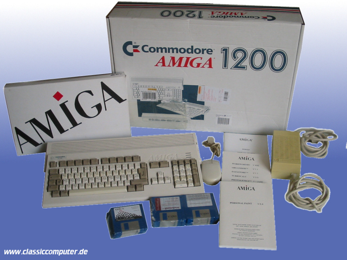 A fully boxed Amiga 1200