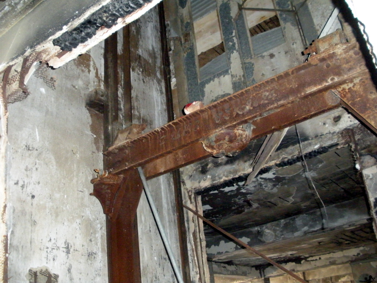 remains of elevator