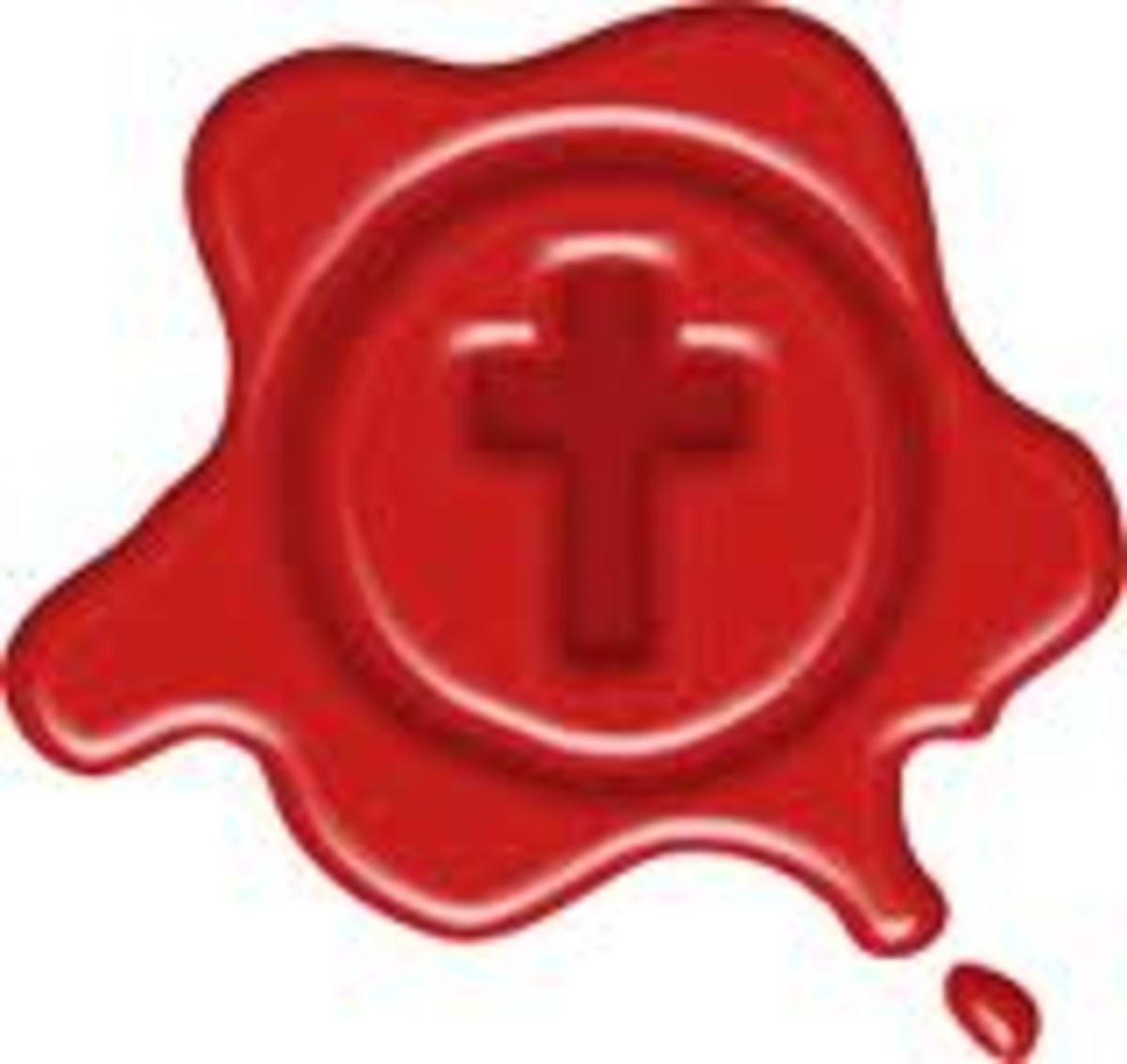 The blood of Jesus seal