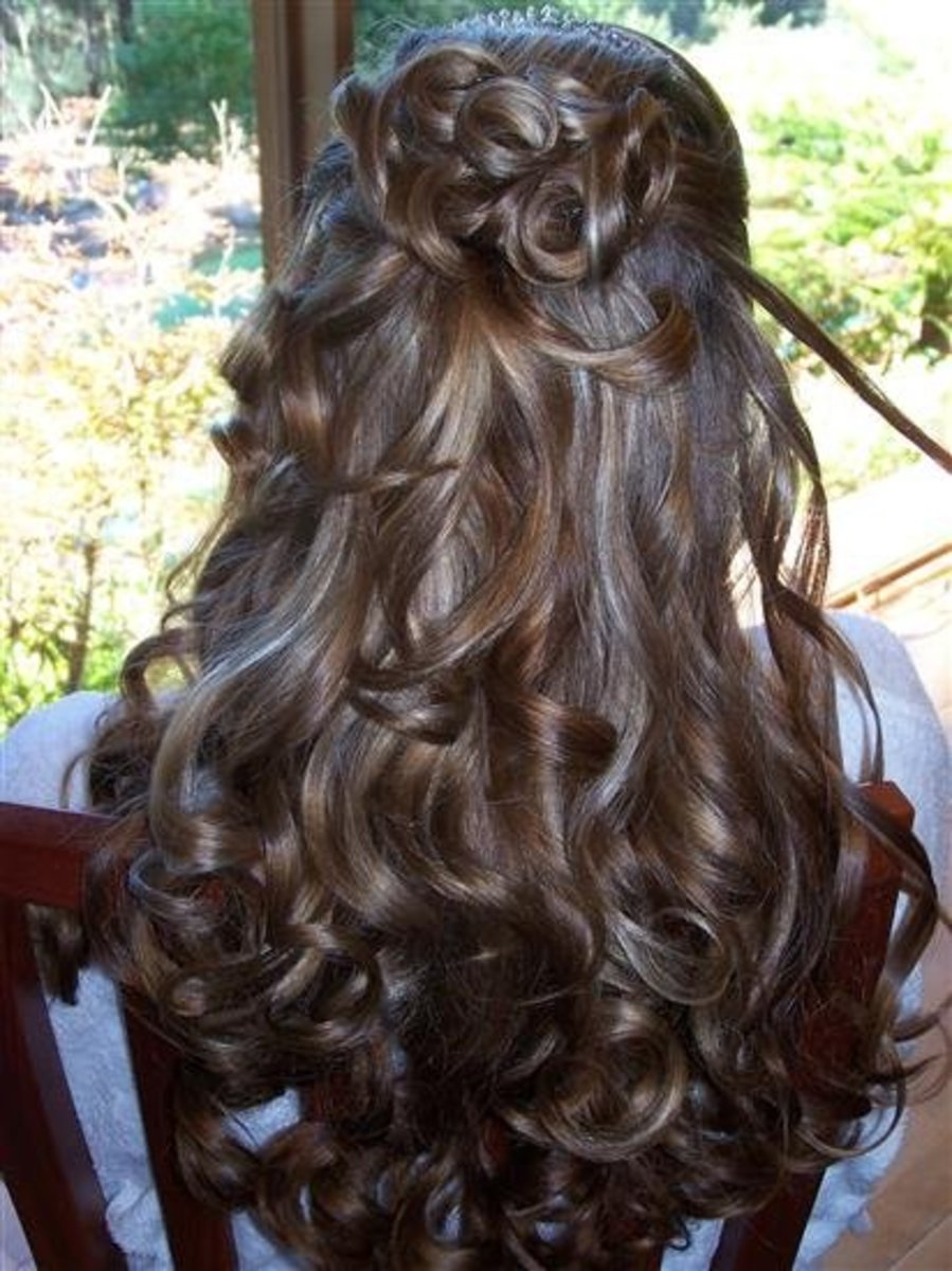 Wedding Hairstyles: The Long And The Short Of It