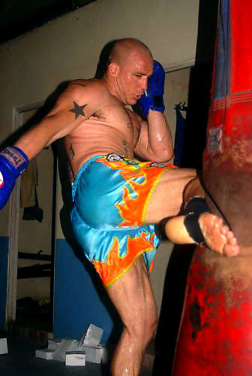 Shin Conditioning for Muay Thai and MMA