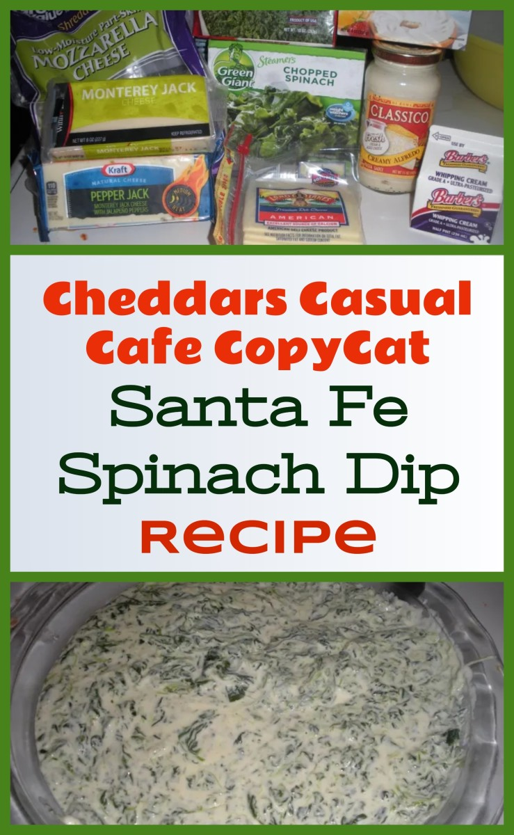 Cheddar's Casual Cafe Santa Fe Spinach Dip (Copycat Recipe) With Pictures