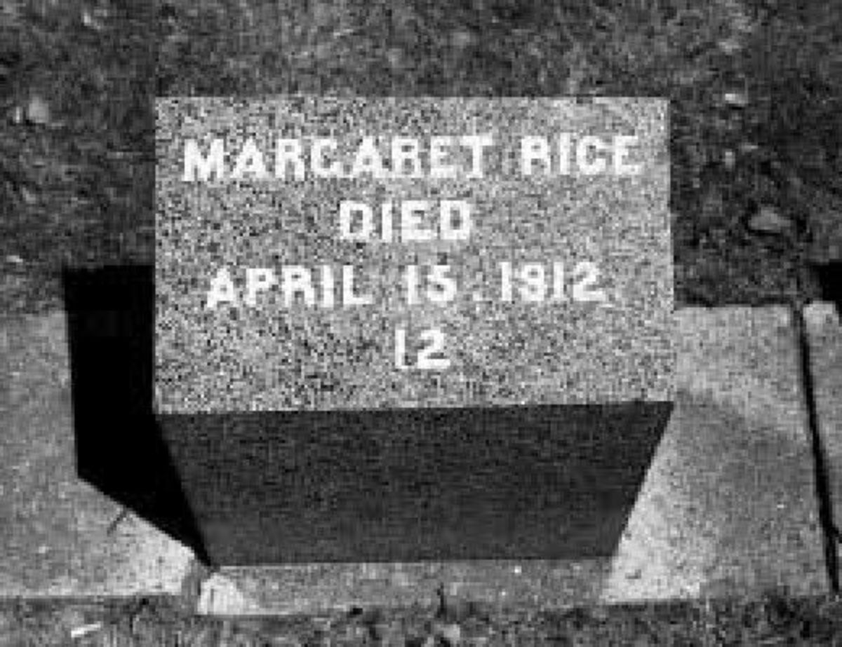 The Grave of Margaret Rice