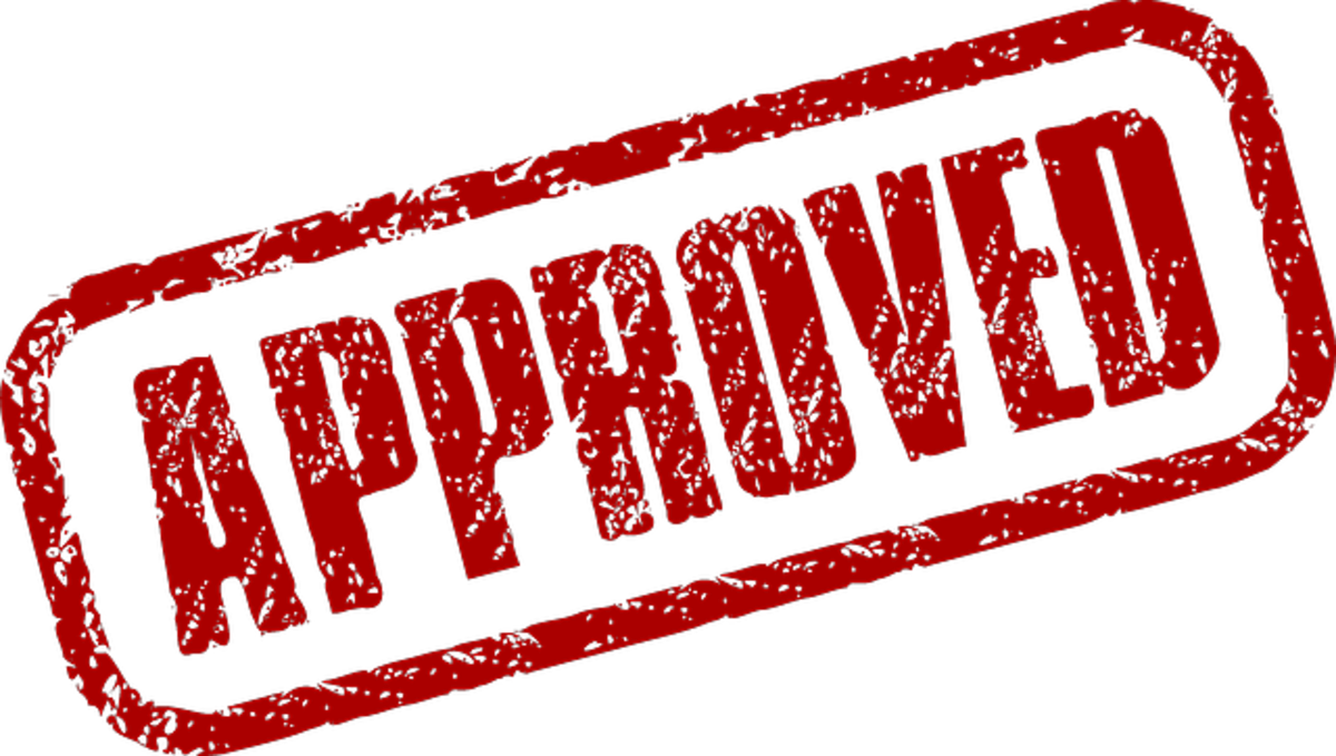 Getting approved is a great feeling and a relief after going through all the processes.  It is unlikely that most people will be rejected, but still, it feels like an achievement.