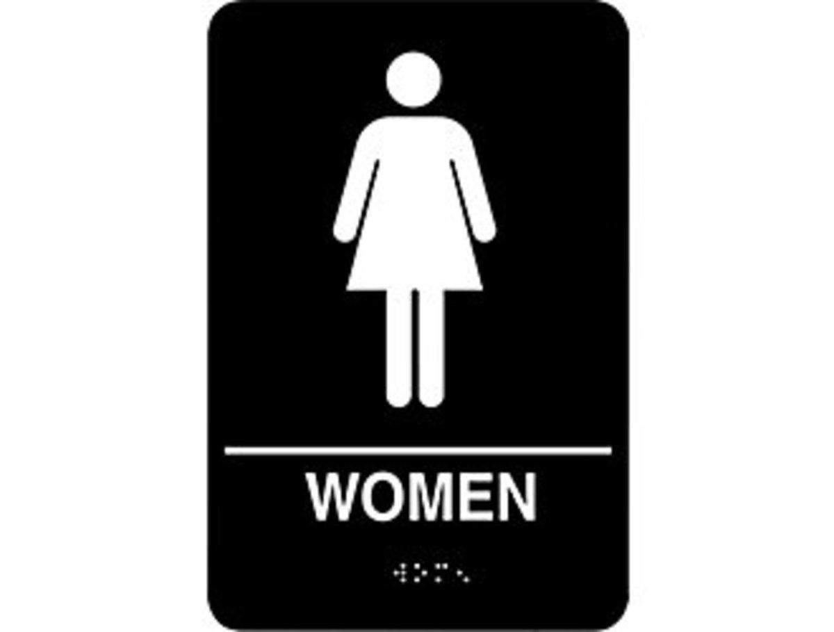 Women's Public Restroom Etiquette 101