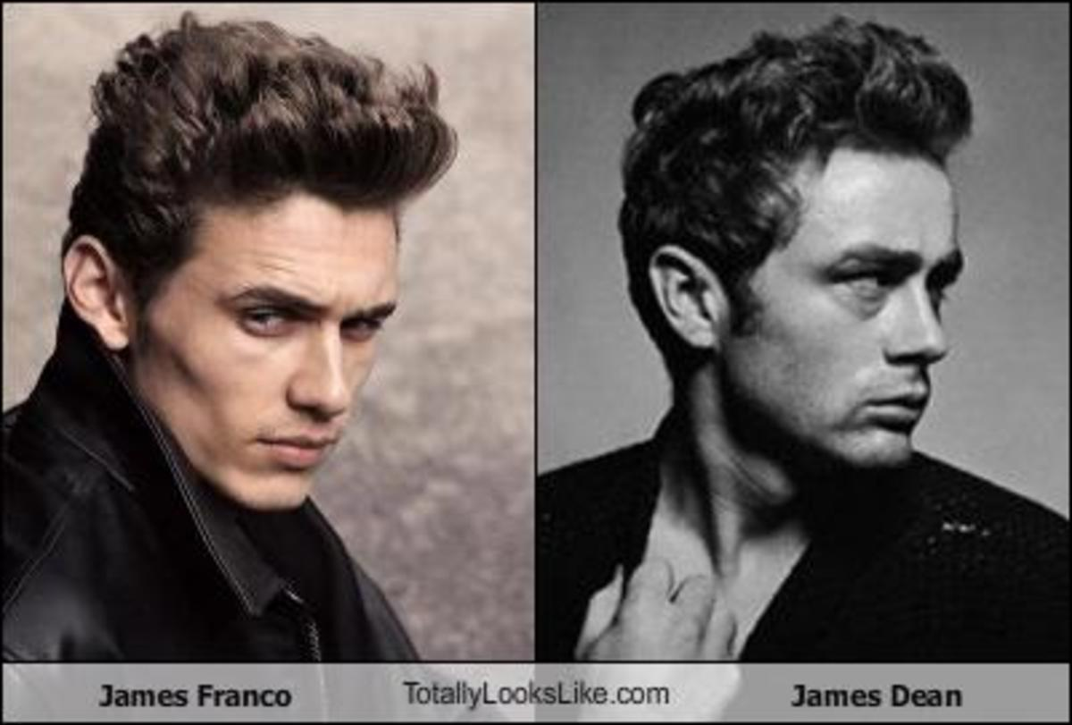 Doesn't James Franco look a lot like me?