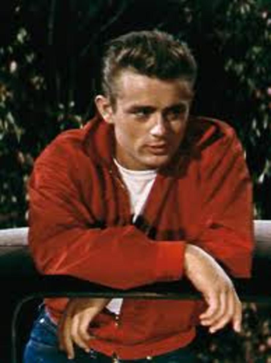 I'm wearing my favorite red jacket.
