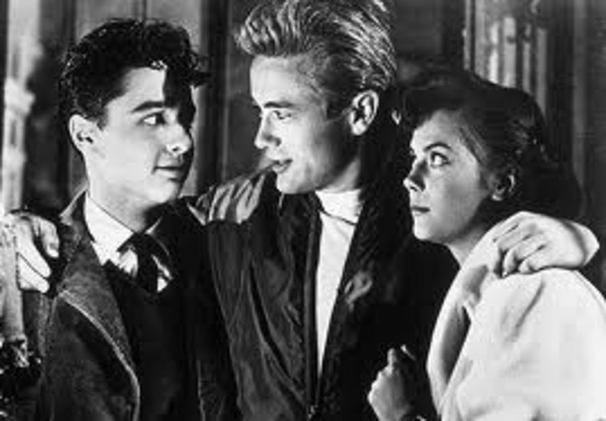 Sal Mineo, Jimmy and Natalie