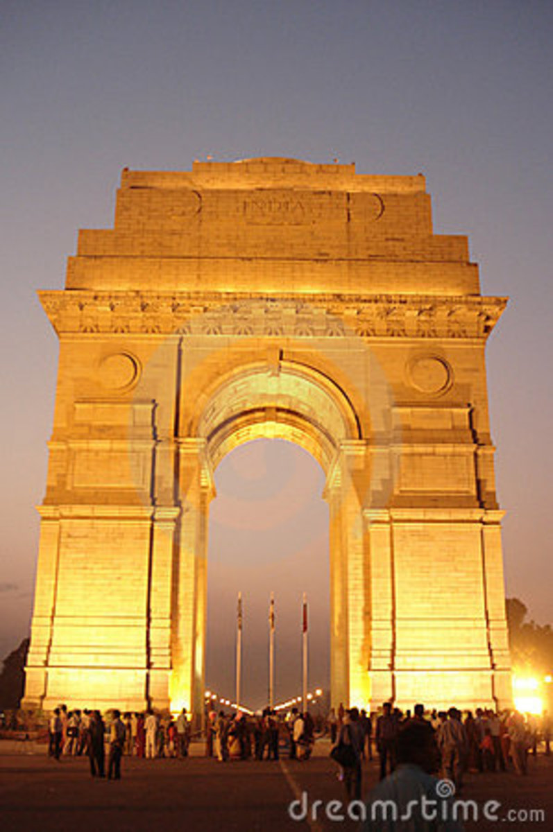 India gate or The gateway of India