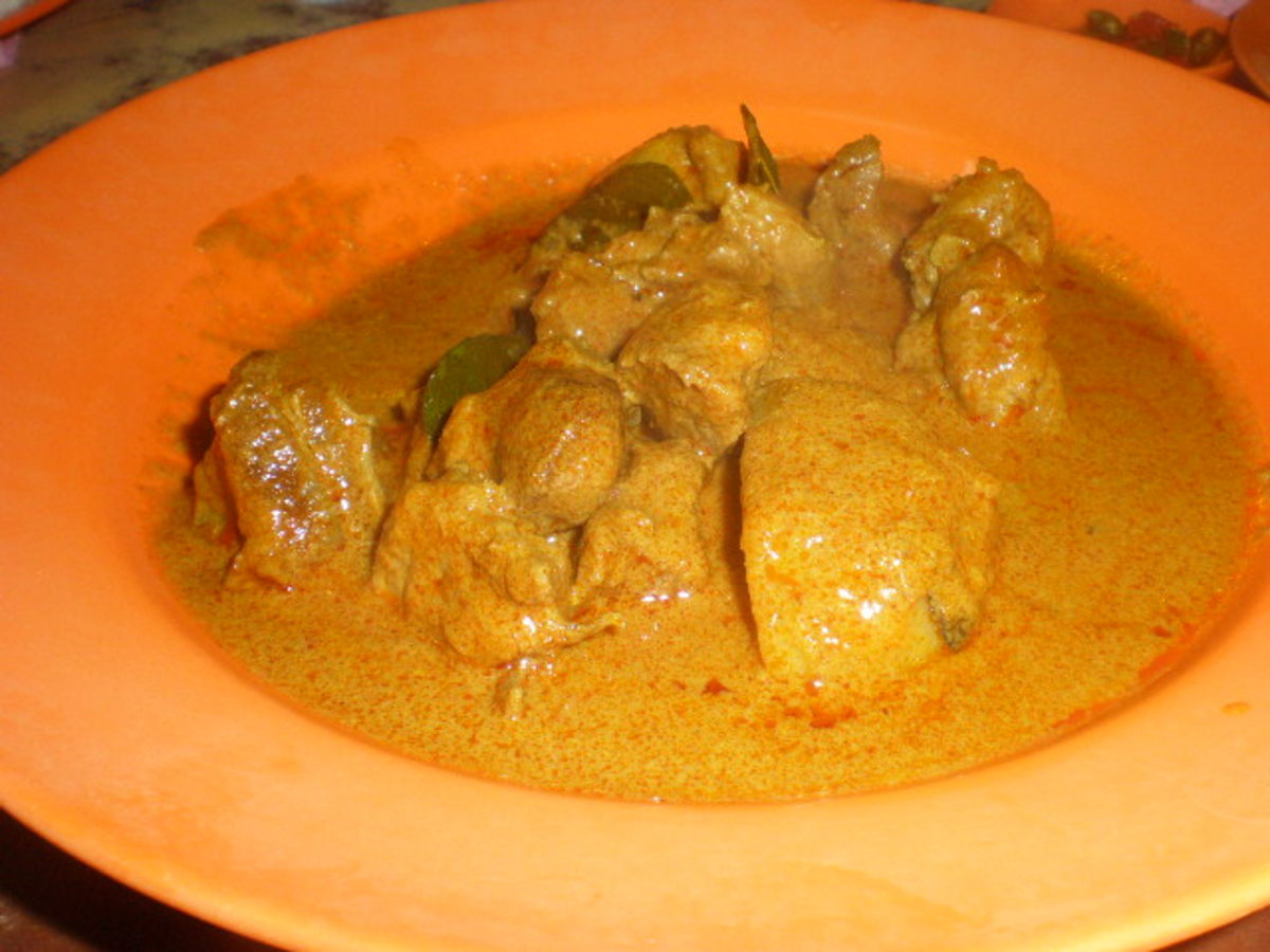 Wild Pork Curry