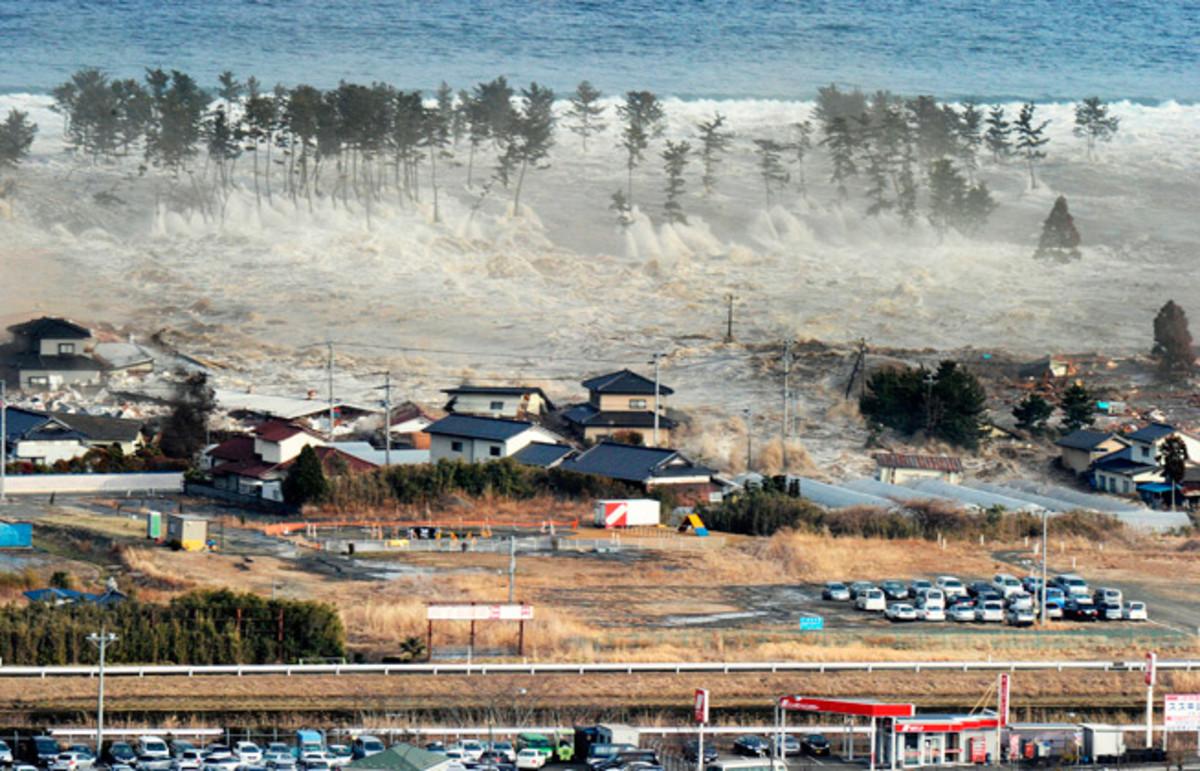 Japan Tsunami 12 March 2011