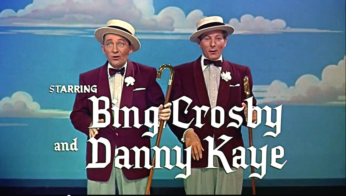 "Bing Crosby and Danny Kaye in ""White Christmas"""