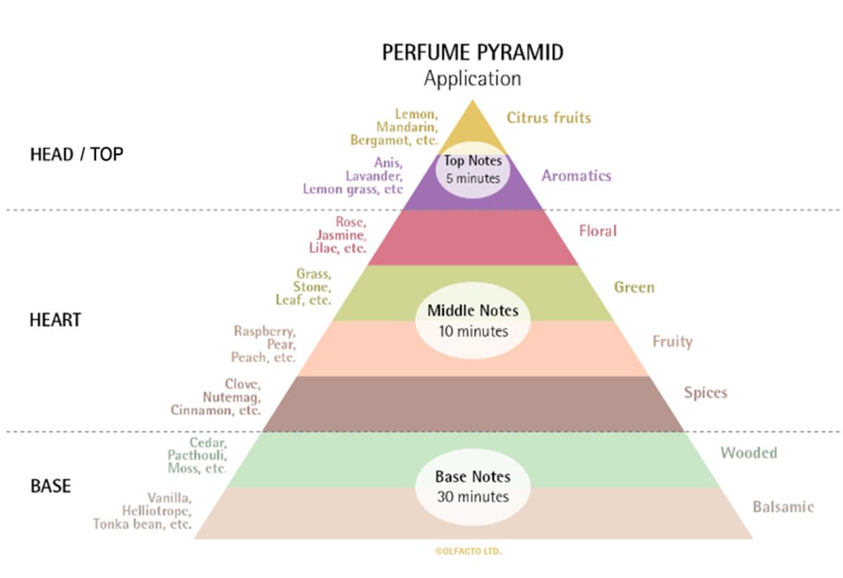 Perfume Pyramid