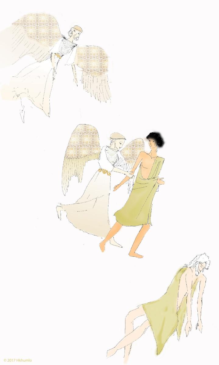 Tithonus and the goddess of dawn (A Myth)
