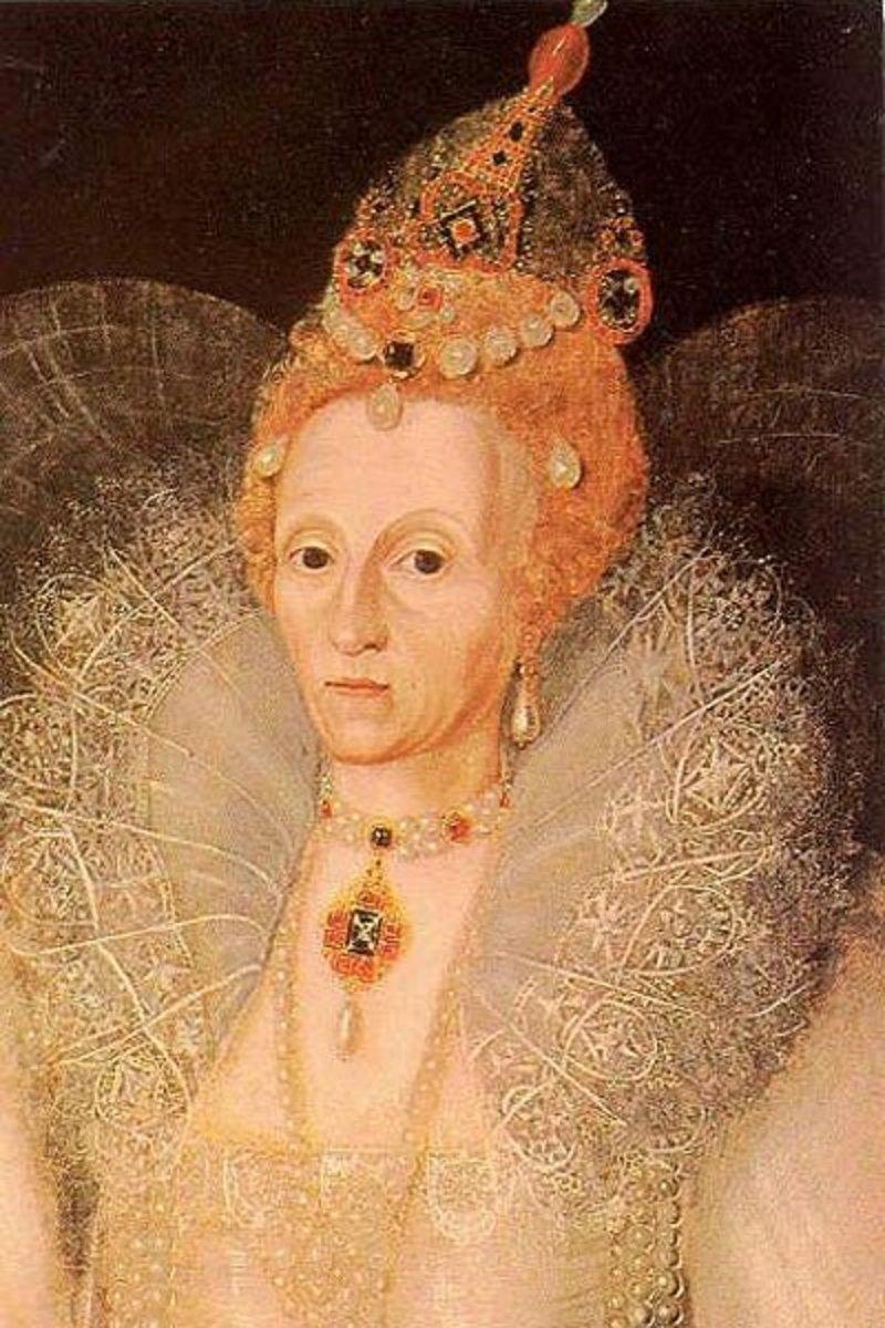 A much older, still childless Elizabeth