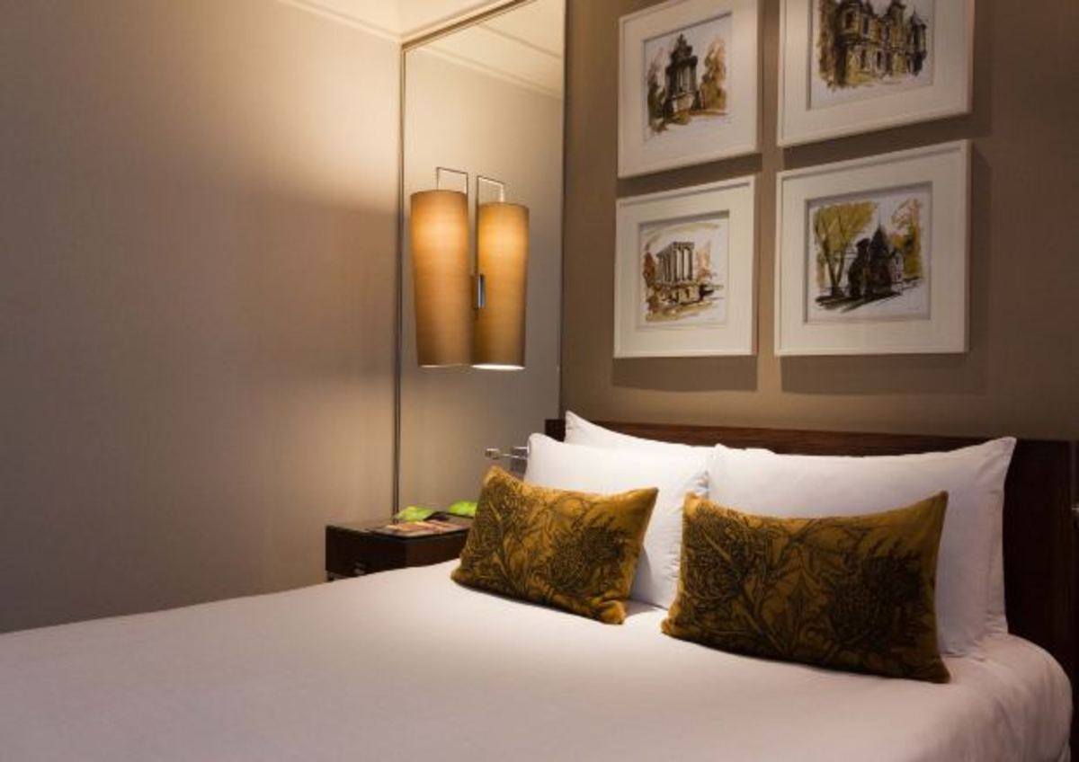 Booking accommodation in hotels.