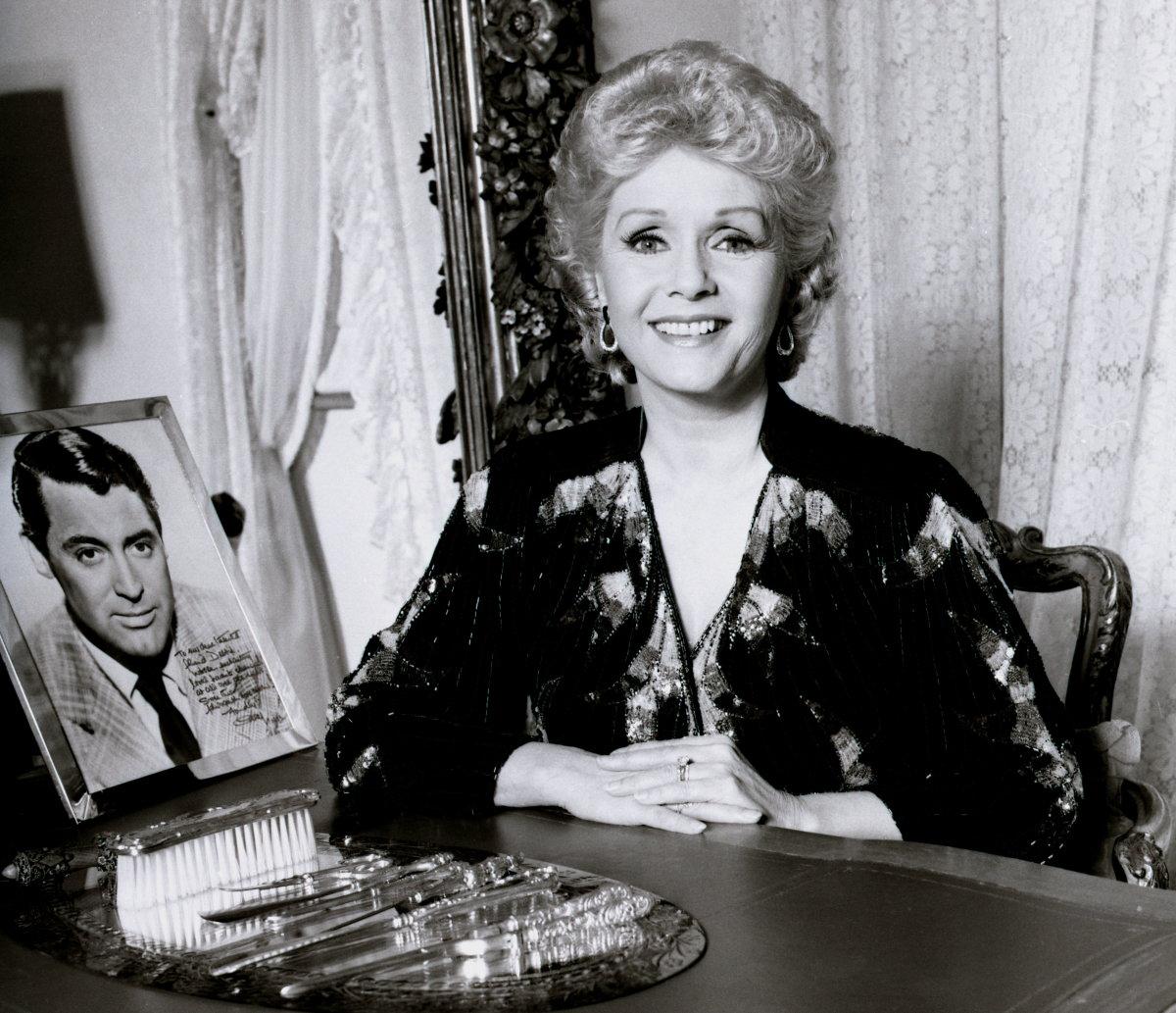 Debbie Reynolds, born April 1, 1932.