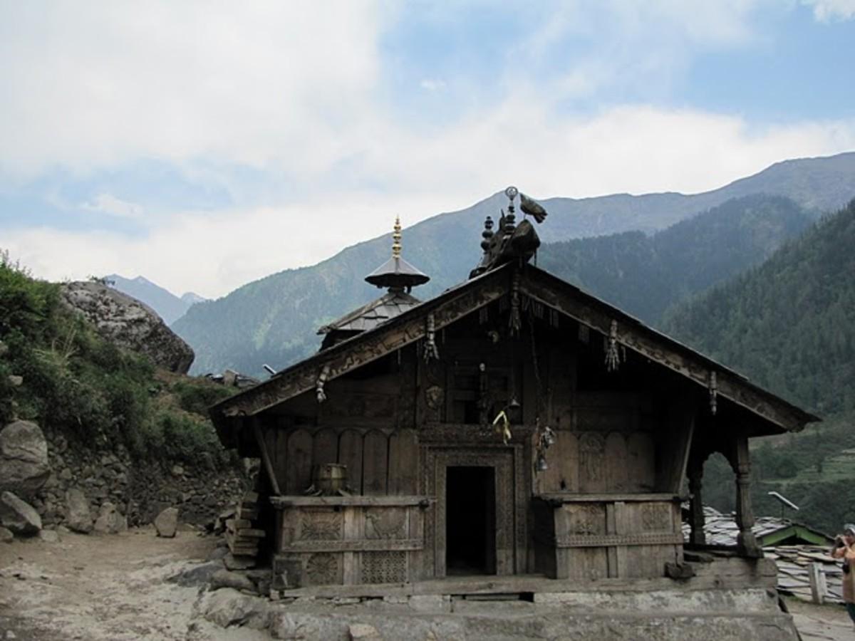 Ancient Duryodhana Temple Near Mori Uttarakhand - Uttaranchal