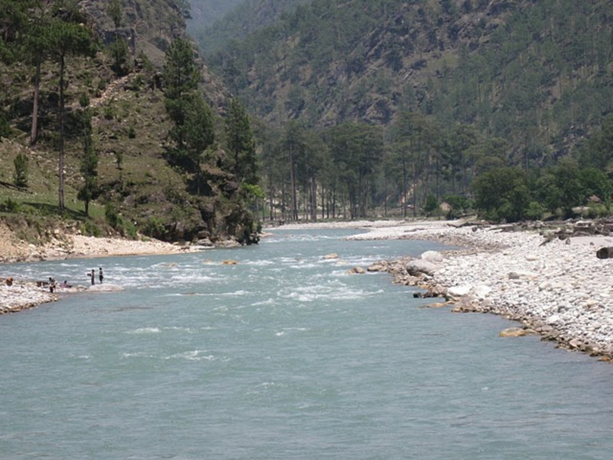 Beautiful River Tons - More water than Yamuna