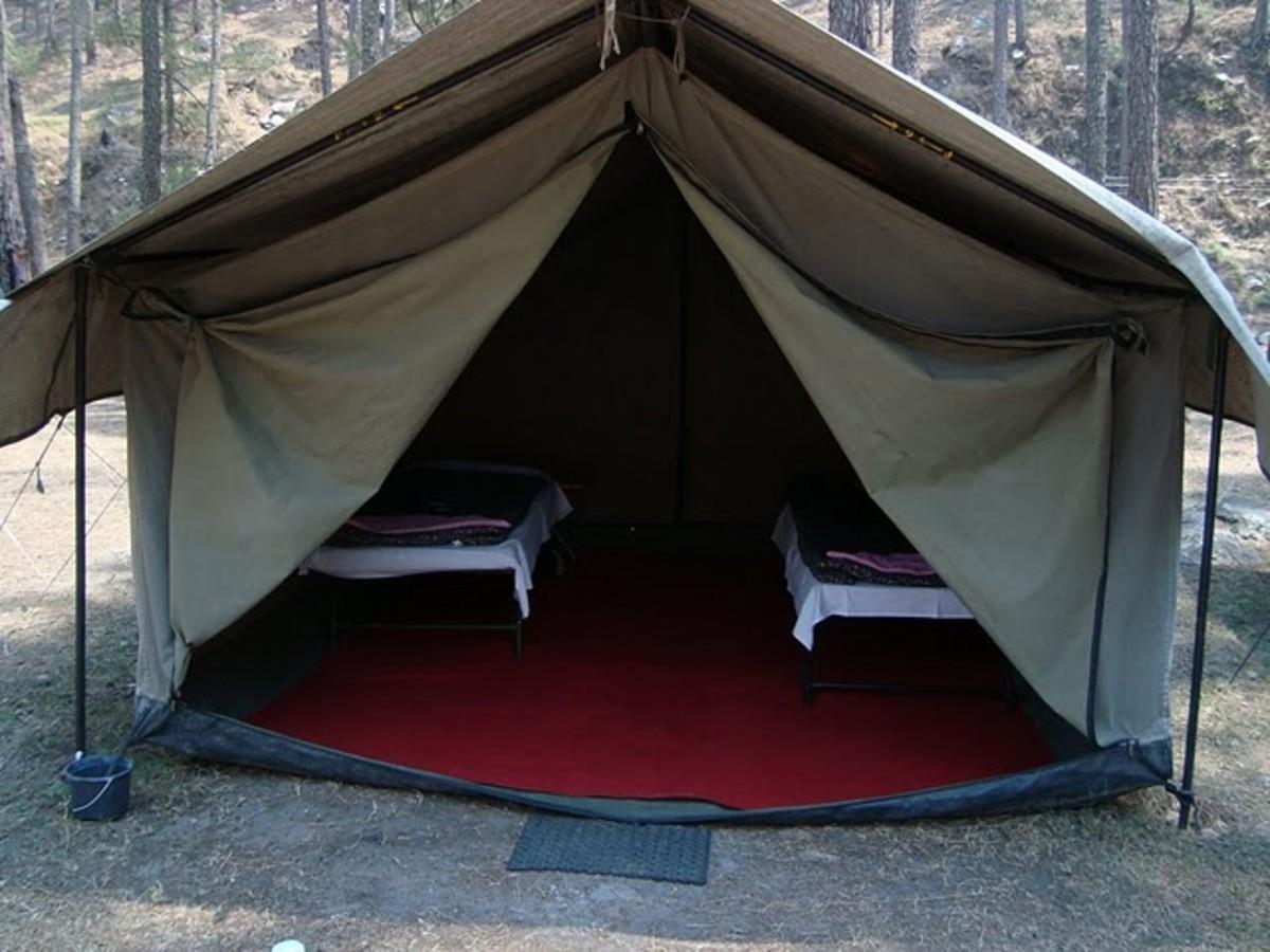 Camping at Mori