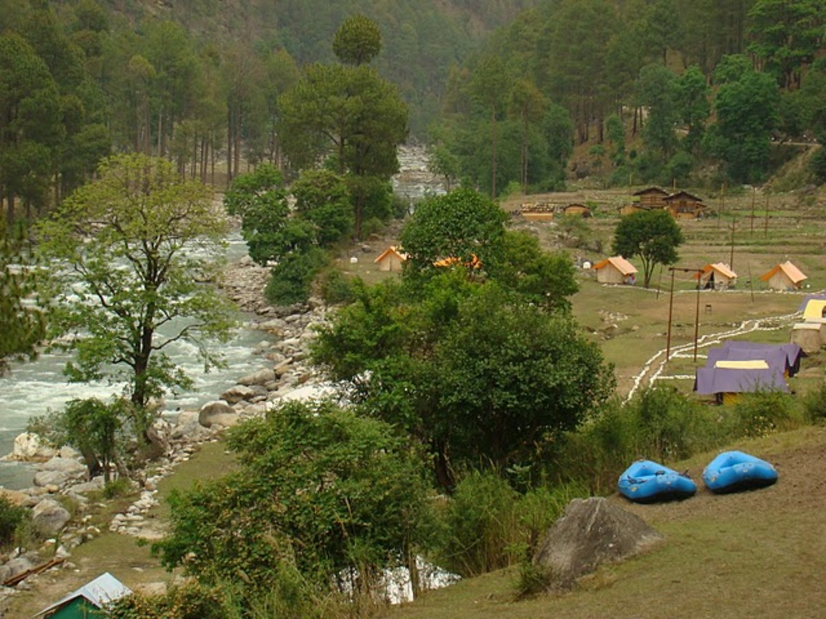 Mori in Uttaranchal - Best River Rafting Camping Destination near Delhi