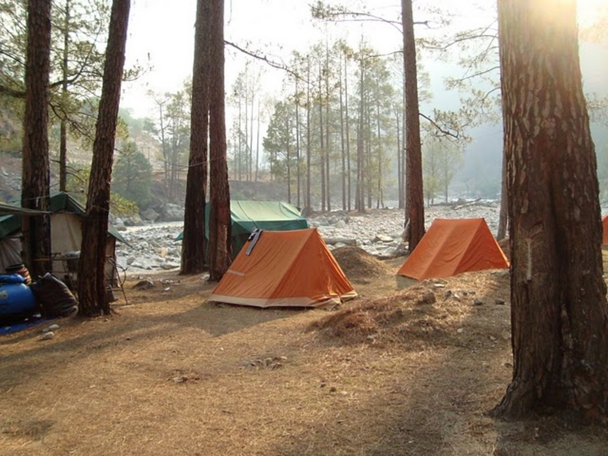 Camp Megatons in Mori Uttarakhand