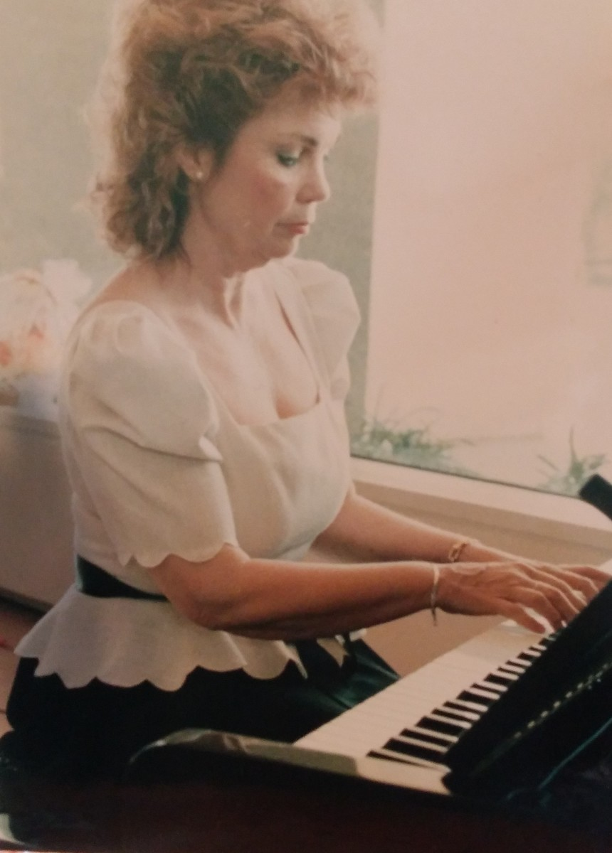 The piano is my soul.  When I perform, I'm in my ideal world.  I thank my creator for my gift.