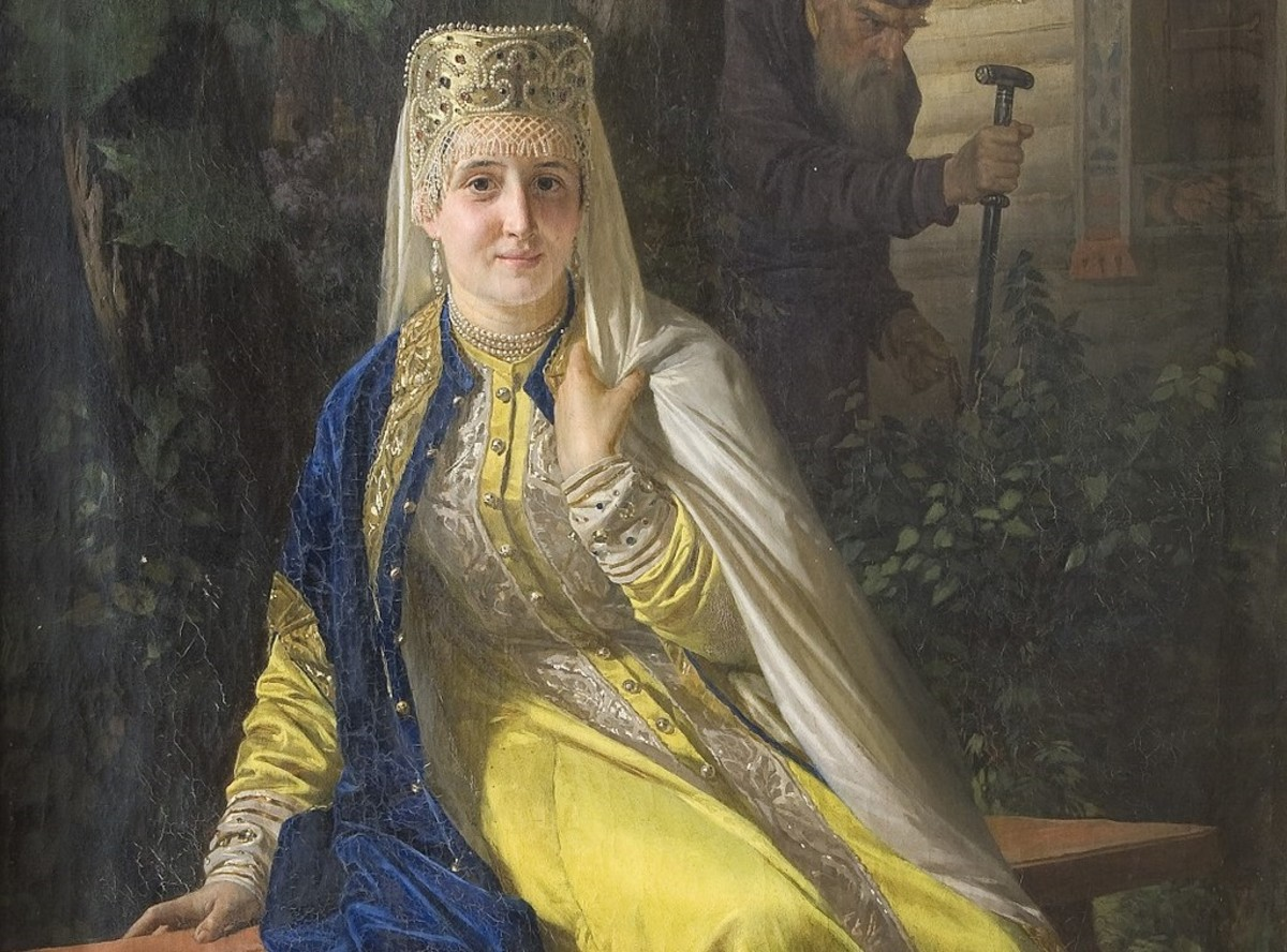 Vasilisa Melentyeva, 6th wife of Ivan the Terrible.