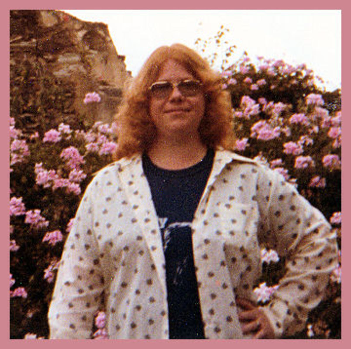 The author in 1981 in the lovely town of Guanajuato, Mexico!