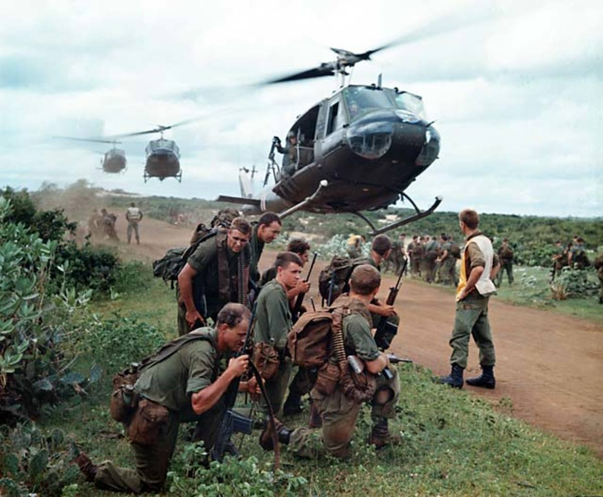THE VIETNAM WAR WAS HELL FOR AMERICAN BOYS