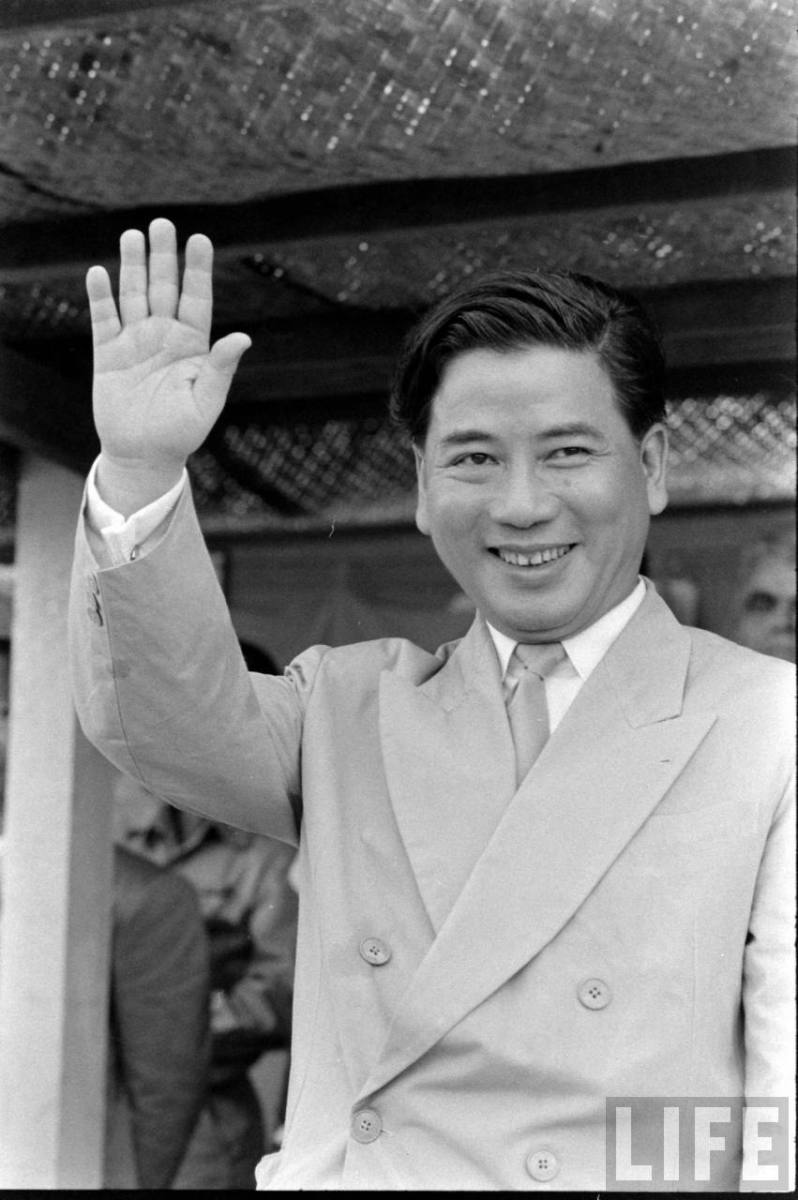 NGO DINH DIEM, PRESIDENT OF SOUTH VIETNAM