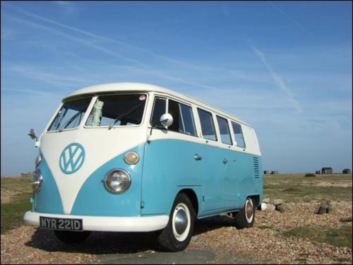 Classic VW Samba Bus