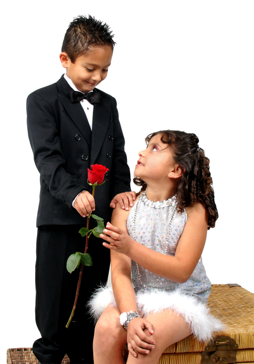 Don't forget to include a red rose (for your lady love) with your love letter.