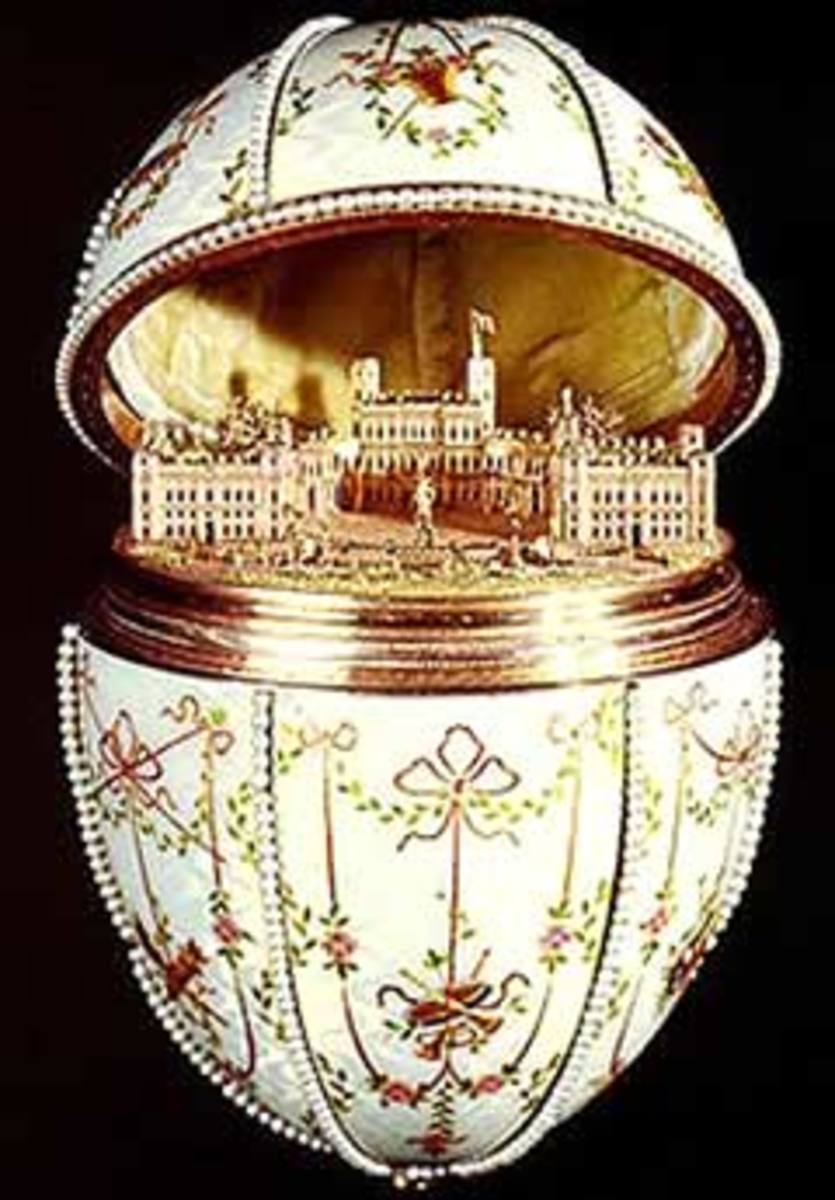 Gatchina Palace Egg - 1901