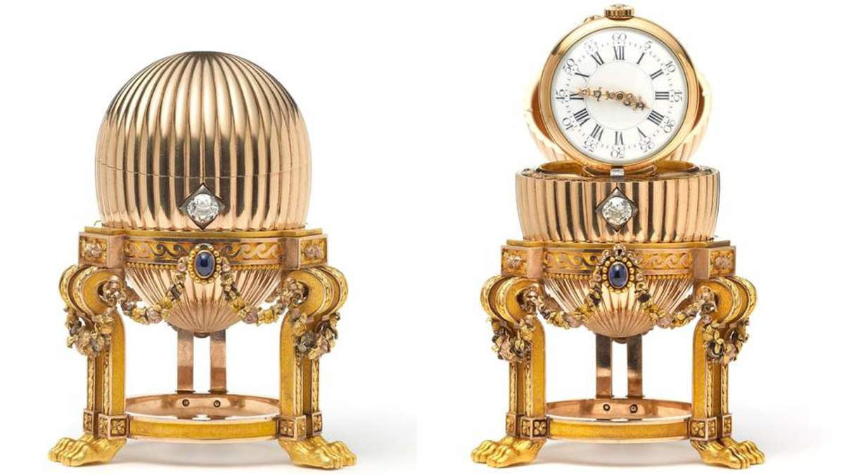 The Third Imperial Egg (1887) with a Vacheron Constantin Watch inside re-emerges in 2014